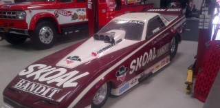 Don Prudhomme's famous Skoal Bandit Funny Car, circa late 1980s.