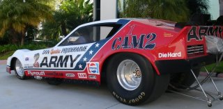Prudhomme's famous U.S. Army Funny Car from the late 1970s. (Image courtesy SnakeRacing.com)