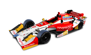 Carlos Munoz' No. 26 Honda will carry sponsorship from hhgregg in both races at Indianapolis in May.