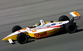 27 Apr 2001: Kenny Brack driving the Shell Team Rahal Ford Lola during practice for the Firestone Firehawk 600, round three of the CART (Championship Auto Racing Teams) FedEx Championship Series at the Texas Motor Speedway in Fort Worth, Texas. Digital Image. Mandatory Credit: Robert Laberge/ALLSPORT