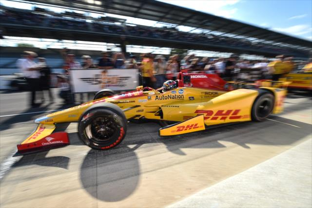 Hunter-Reay's No. 28 DHL Honda. Photo: IndyCar