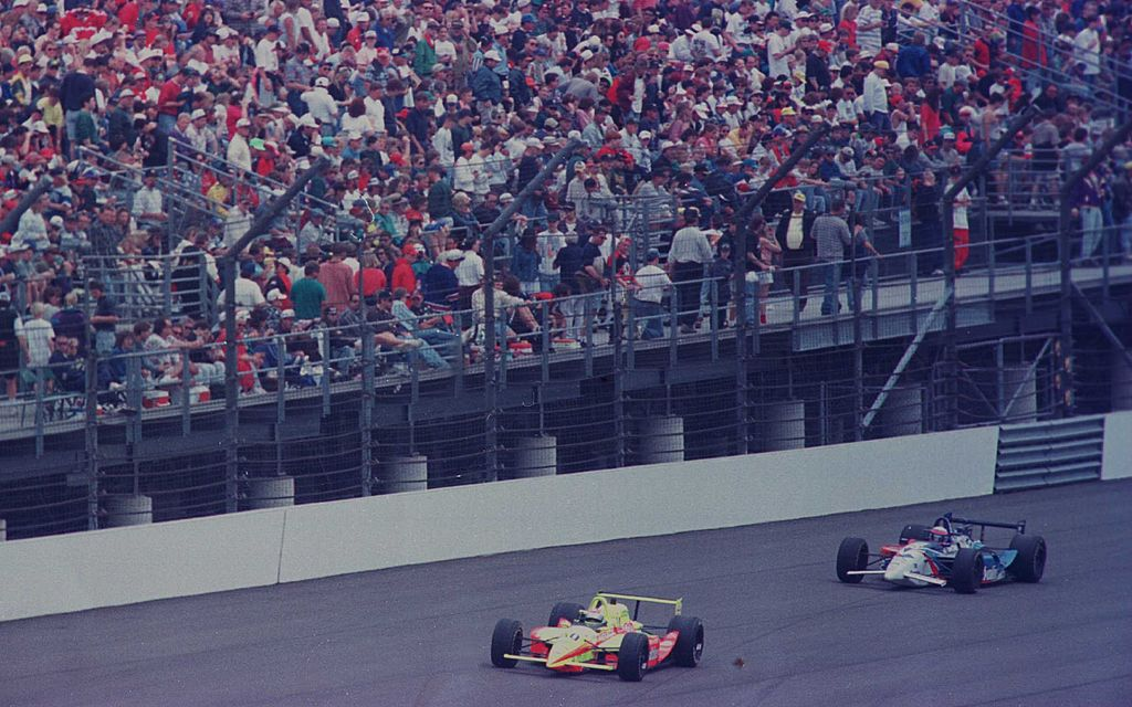 Stewart and Groff. Photo: IMS Archives