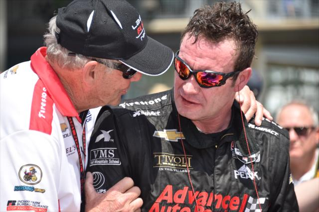 Bob and Buddy Lazier. Photo: IndyCar