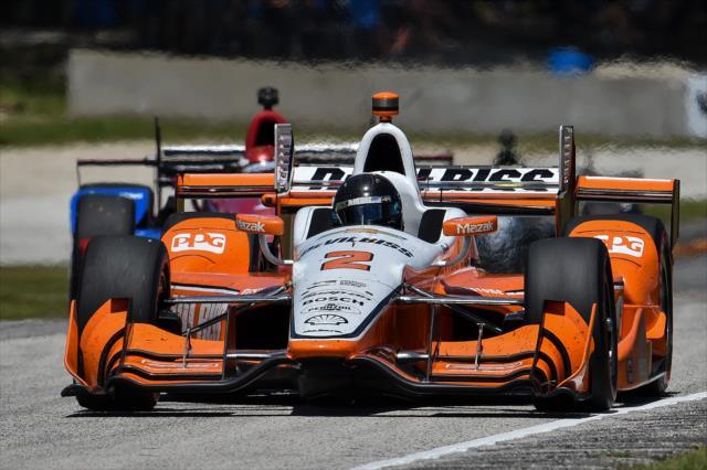 Montoya. Photo: IndyCar