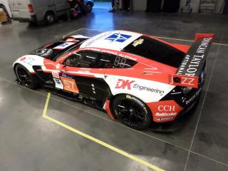 The Corvette Johnny O'Connell will race in the 24 Hours of Le Mans.