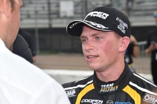 Hometown boy Aaron Telitz. Photo: Indianapolis Motor Speedway, LLC Photography