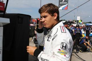 Enerson. Photo: IndyCar