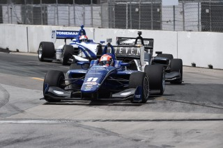 Jones (11) and Stoneman (27) are two of the six Indy Lights title contenders. Photo: Indianapolis Motor Speedway, LLC Photography