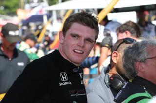 Daly. Photo: IndyCar