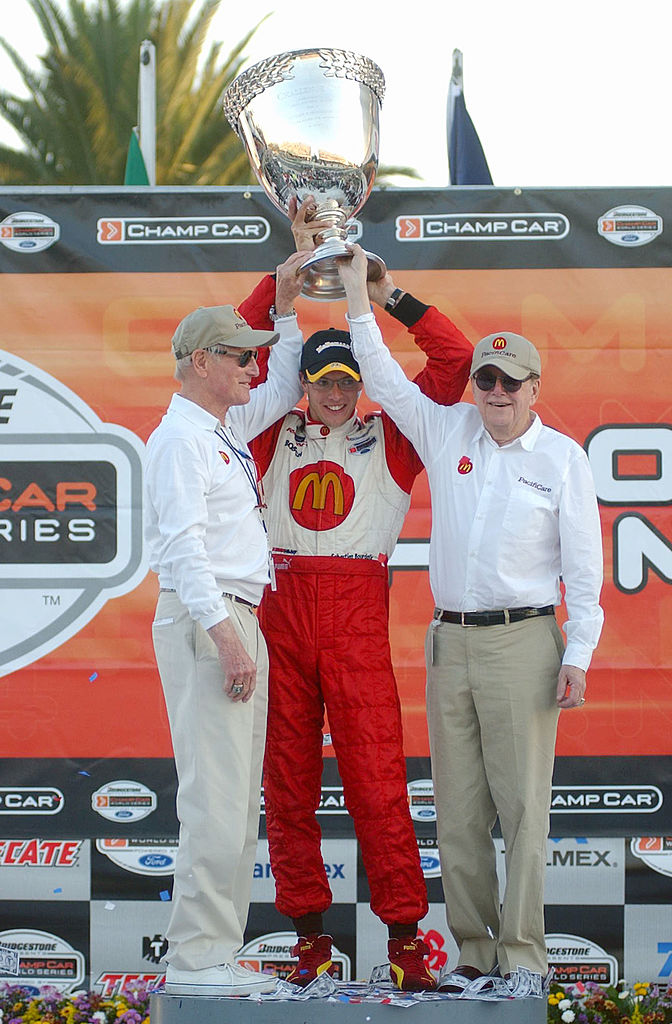 Bourdais' first title in 2004. (Photo by Aubrey Washington/Getty Images)