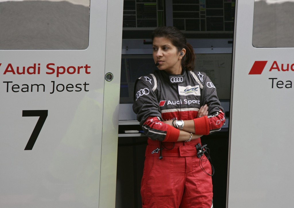 Leena Gade (Vehicle Engineer Audi R18 e-tron quattro #2)