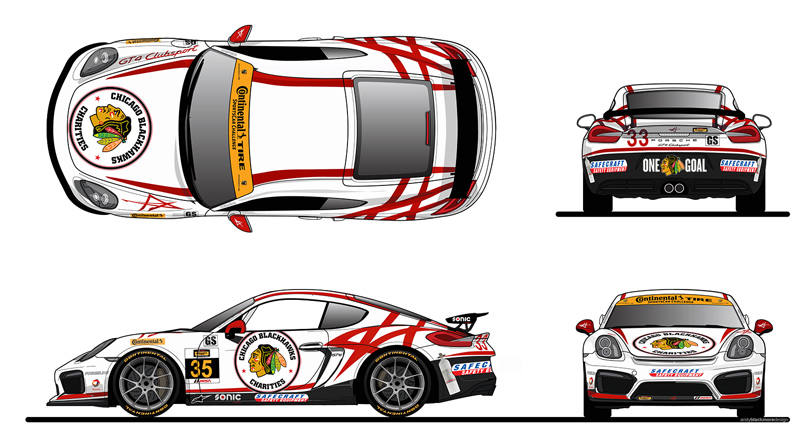 Livery design by Andy Blackmore Design