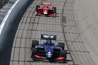 Serralles and Veach stole show at Iowa. Photo: Indianapolis Motor Speedway, LLC Photography