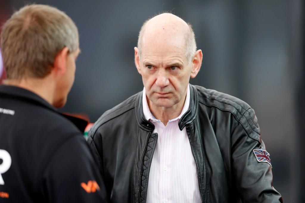 Adrian Newey, Harrison's father, in the FIA F3 paddock at Zandvoort in July (© FIA F3)