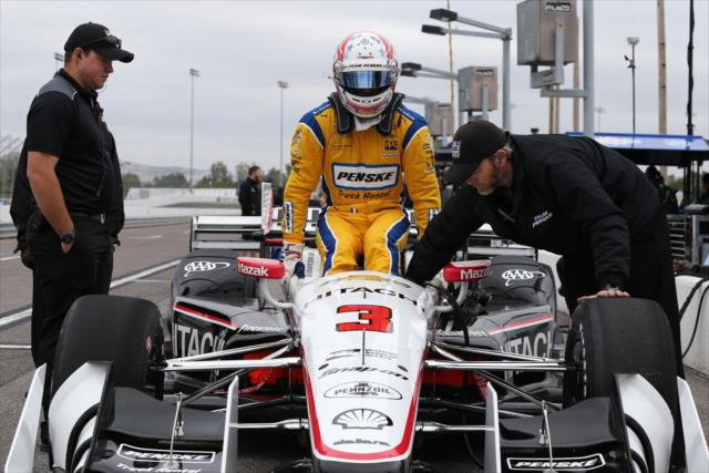 Newgarden... as Castroneves? Photo: IndyCar