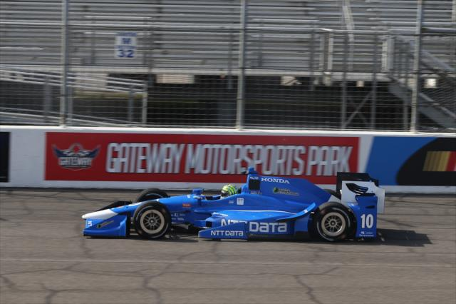 Kanaan at Gateway. Photo: IndyCar