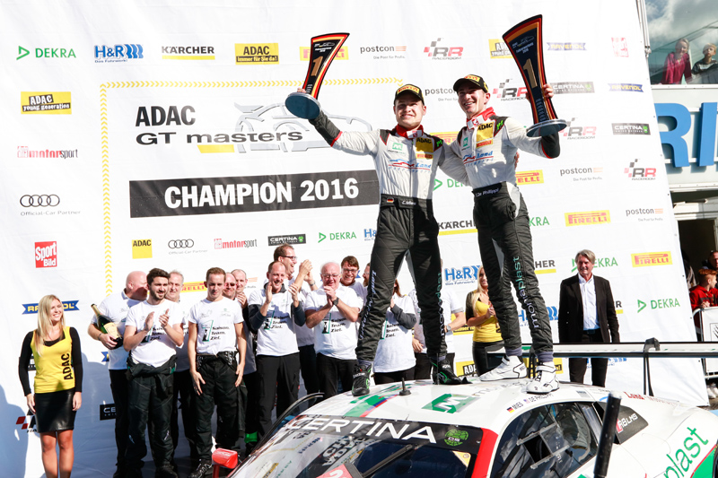 Title clinched. Photo: 'Gruppe C'/Land Motorsport