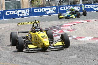 Megennis at Toronto. Photo: Indianapolis Motor Speedway, LLC Photography