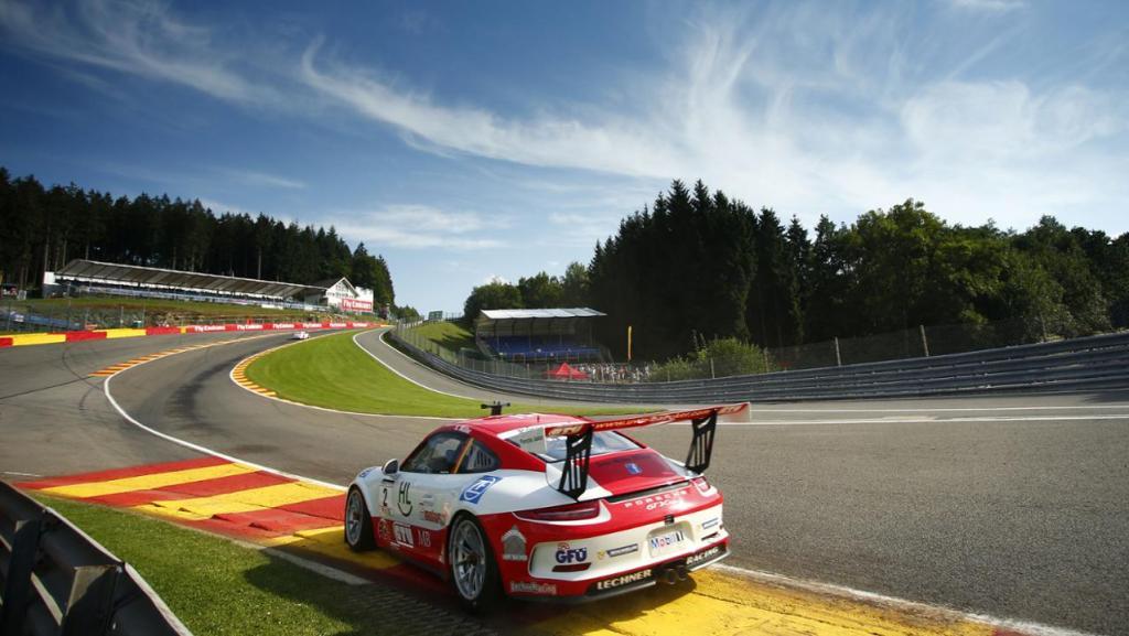 Mueller at Spa. Photo: Porsche AG
