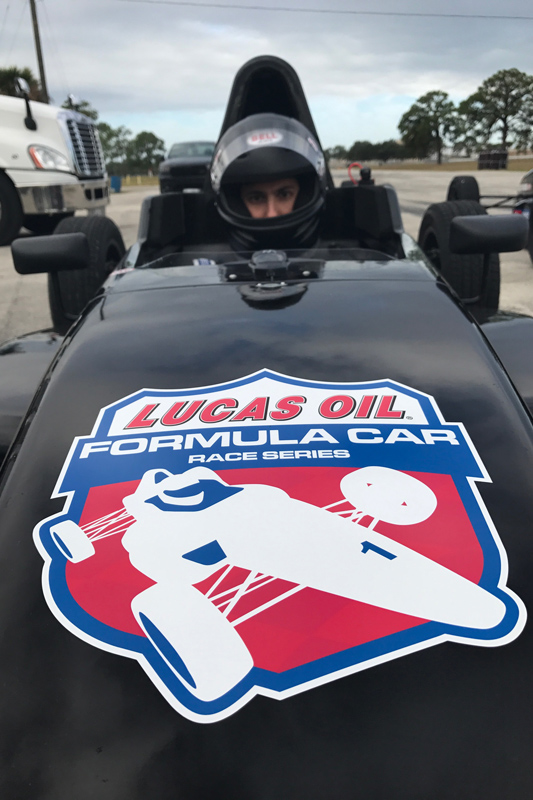Photo courtesy of Lucas Oil School of Racing