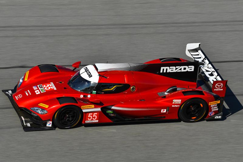 No. 55 Mazda RT24-P. Photo courtesy of IMSA