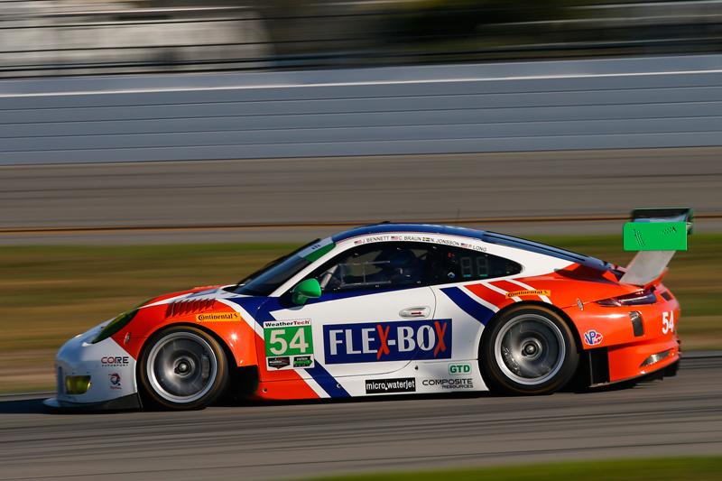 No. 54 CORE autosport Porsche 911 GT3 R. Photo courtesy of IMSA
