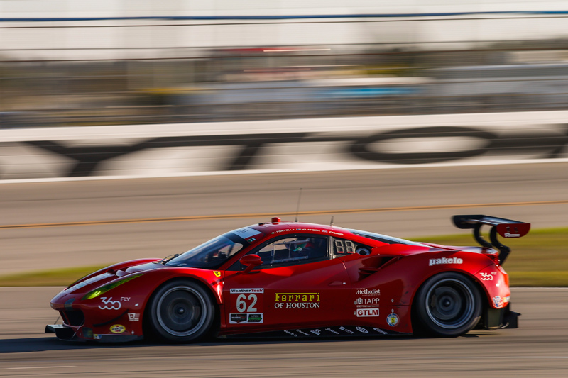 No. 62 Risi Competizione Ferrari 488 GTE. Photo courtesy of IMSA