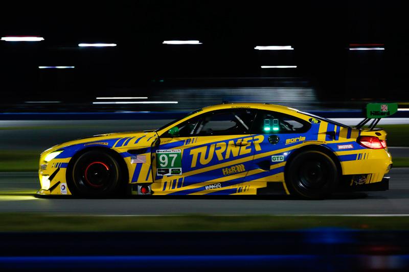 No. 97 Turner Motorsport BMW M6 GT3. Photo courtesy of IMSA