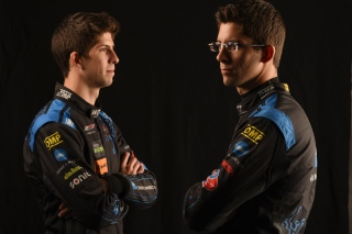 Ricky and Jordan Taylor. Photo courtesy of IMSA