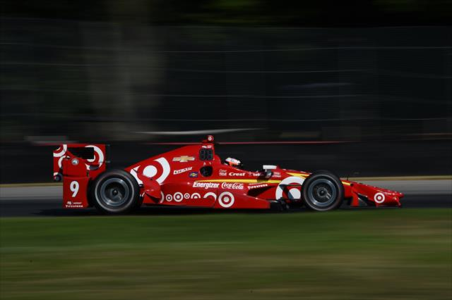 Felix Rosenqvist's Ganassi test last year was an intriguing one. Photo: IndyCar