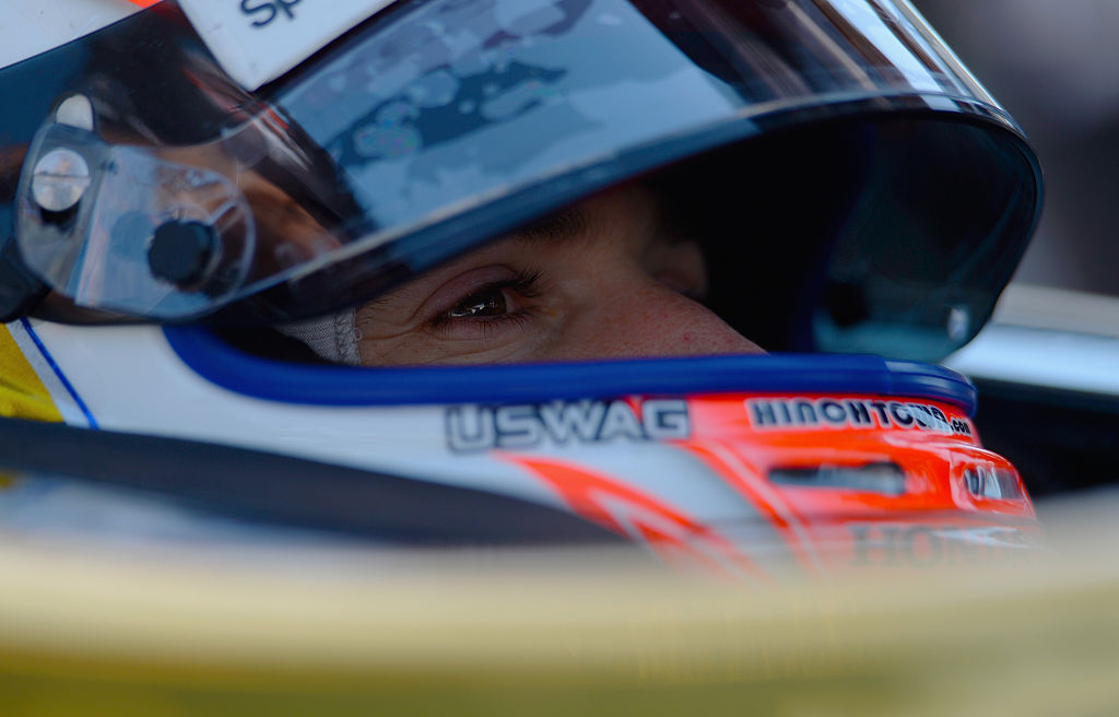 FORT WORTH, TX - JUNE 10: James Hinchcliffe of Canada, driver of the #5 ARROW Schmidt Peterson Motorsports Chevrolet, sits in his car during practice for the Verizon IndyCar Series Firestone 600 at Texas Motor Speedway on June 10, 2016 in Fort Worth, Texas. (Photo by Robert Laberge/Getty Images for Texas Motor Speedway)