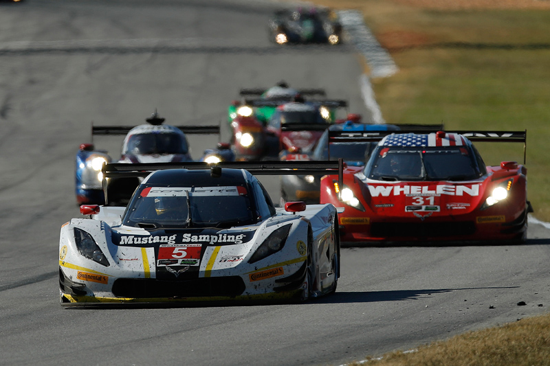 DP/P2 balance was harder to nail a combined tire. Photo courtesy of IMSA