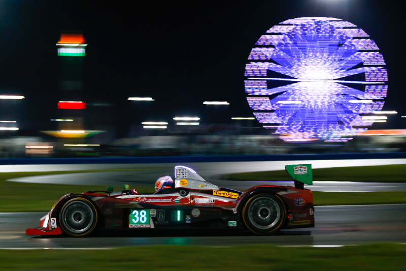 No. 38 Performance Tech Motorsports Oreca FLM09. Photo courtesy of IMSA