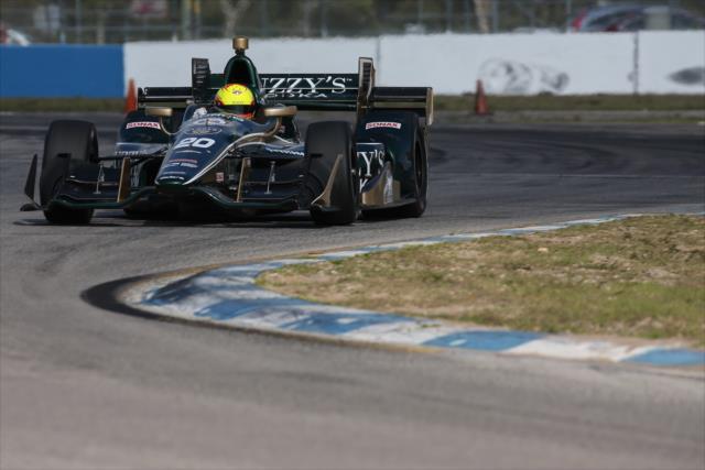 Pigot enters a pivotal sophomore season. Photo: IndyCar