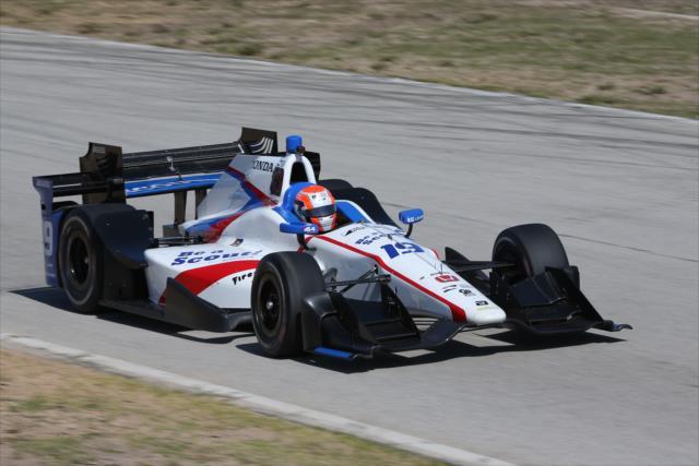 Jones steps up to IndyCar in 2017. Photo: IndyCar