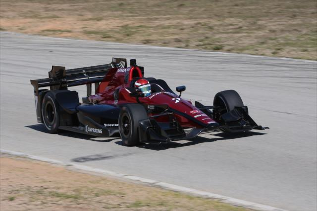 New livery for Aleshin. Photo: IndyCar