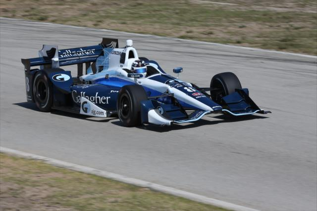 Max Chilton needs to improve in 2017. Photo: IndyCar