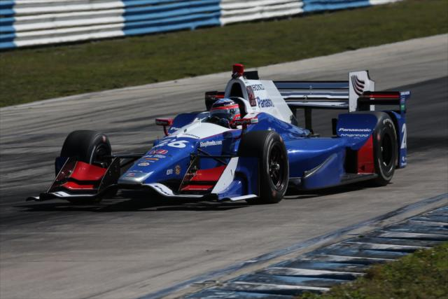 Sato joins Andretti Autosport. Photo: IndyCar