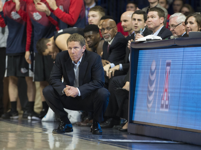Gonzaga head coach Mark Few (Getty Images)