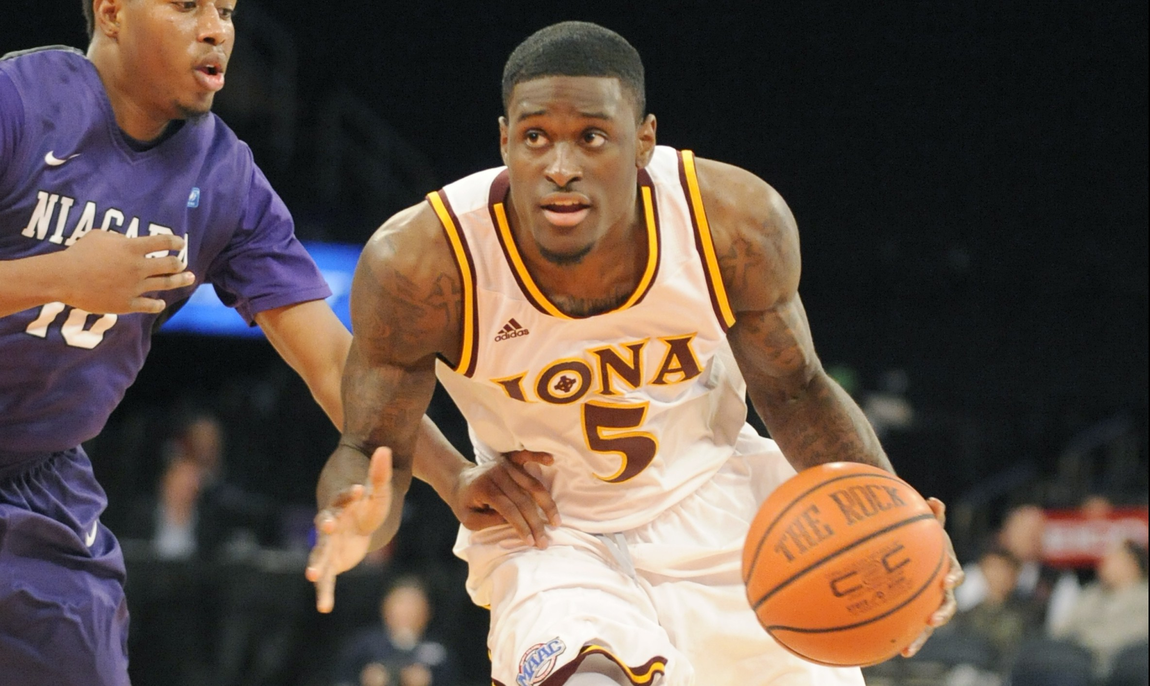 Iona guard A.J. English (Getty Images)
