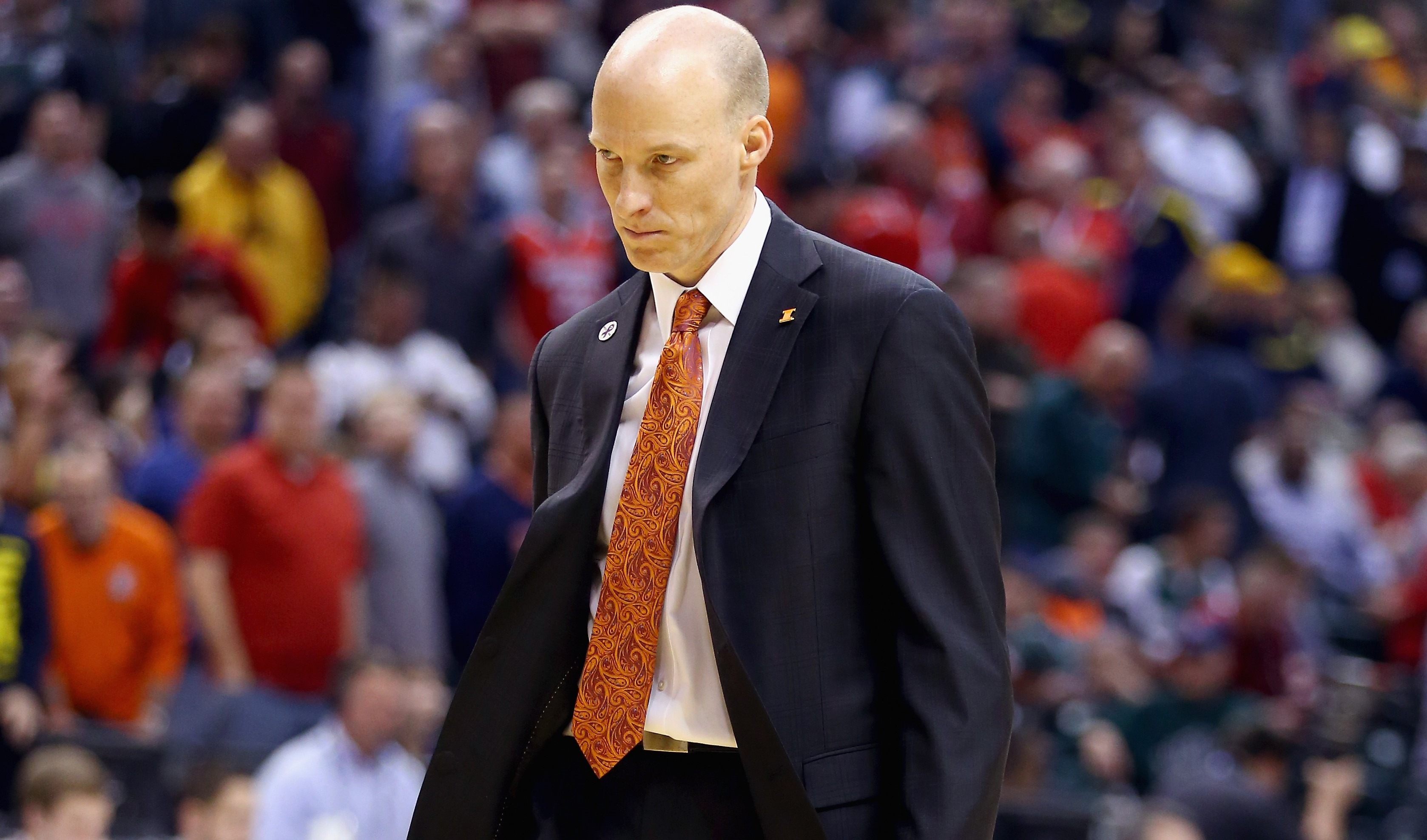 Illinois head coach John Groce (Getty Images)