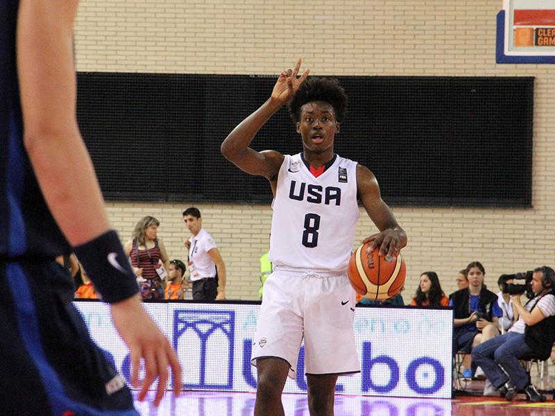 Collin Sexton, USA Basketball