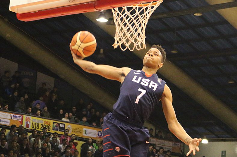 Washingtons Markelle Fultz, USA Basketball