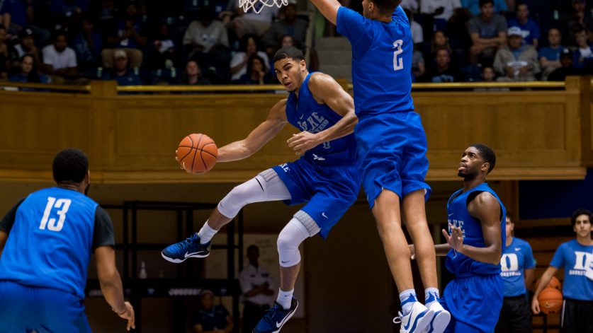 Jayson Tatum (photo courtesy Duke Athletics)