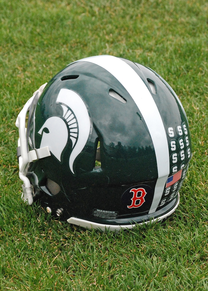 Michigan State Helmets