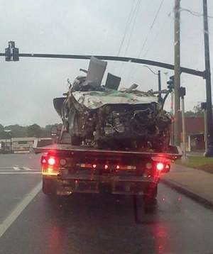 Ashely Lowery Car Wreck