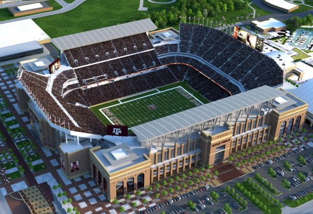 Kyle Field Renovated