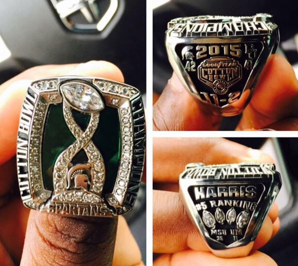 Michigan State Cotton Bowl Ring