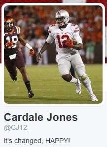 Cardale Twitter Profile II