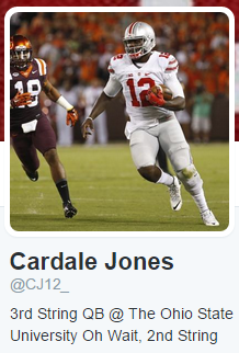 Cardale Twitter Profile